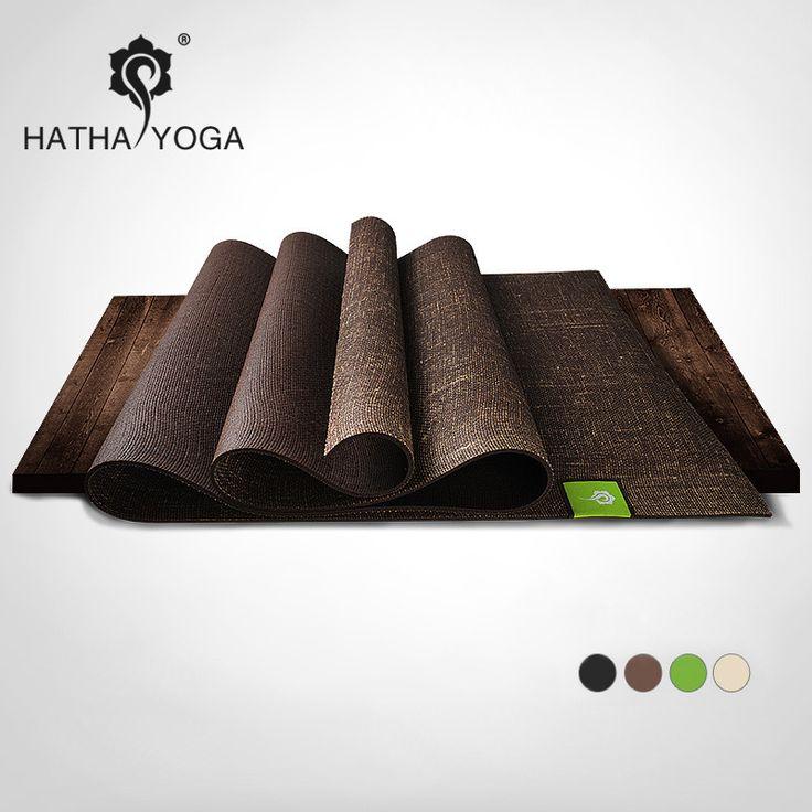 Ha hij professionele antislip master 5mm natuurlijke linnen Rubber Yoga Mat sterkte yoga mat in  van yoga matten op AliExpress.com | Alibaba Groep