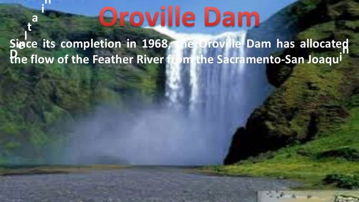Present critical condition of Oroville Dam, California US as on 13th Feb...
