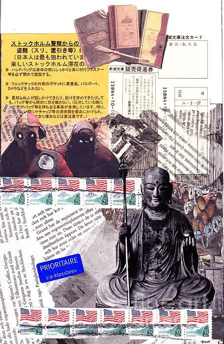 collage voodoo Buddha