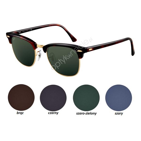 #RayBan #okulary #przeciwsłoneczne:: #Clubmaster rb 3016 z korekcją