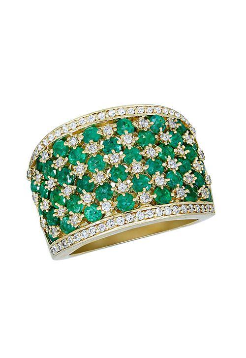 VEDI DETTAGLI QUI: Effy Gioielli Gemma smeraldo e diamanti, 2,84 TCW