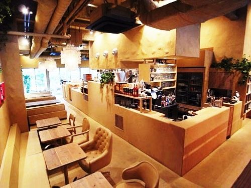 Coffee Shop Bar Design | wood café bar lounge furniture design minimalist Japanese café bar ...