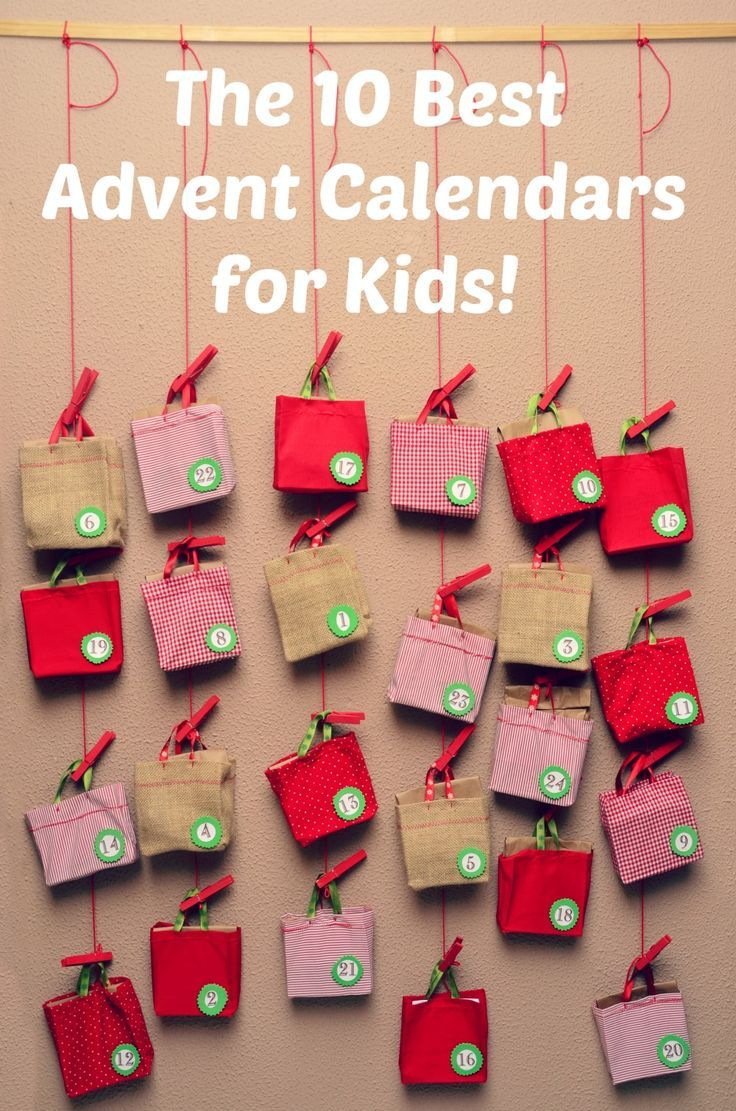 25 best ideas about advent calendars for kids on - Pinterest advent ...