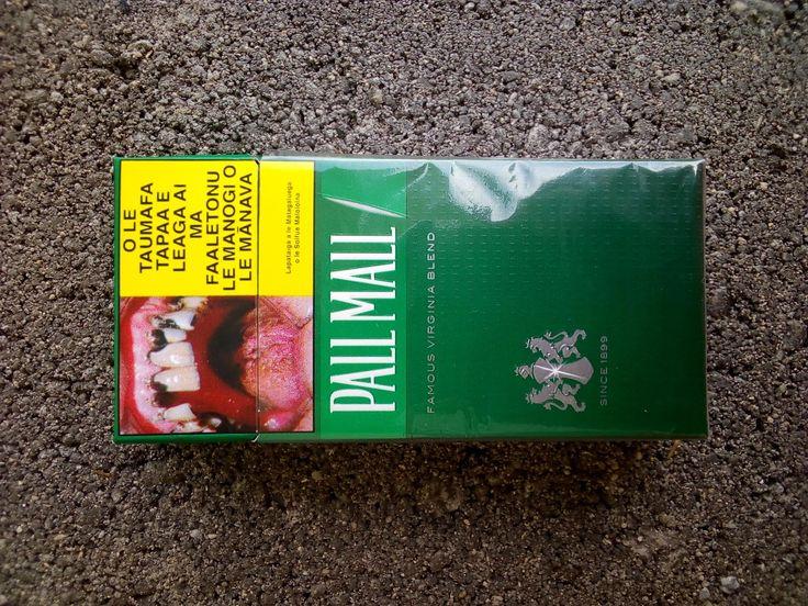 Cigarette half pack distributed in Samoa