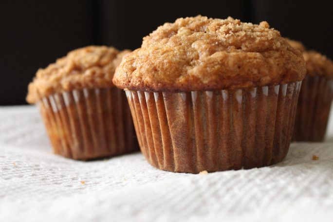 Banana Crumb Muffins | Baking | Pinterest