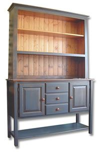 The Woodmill solid pine dining hutch.