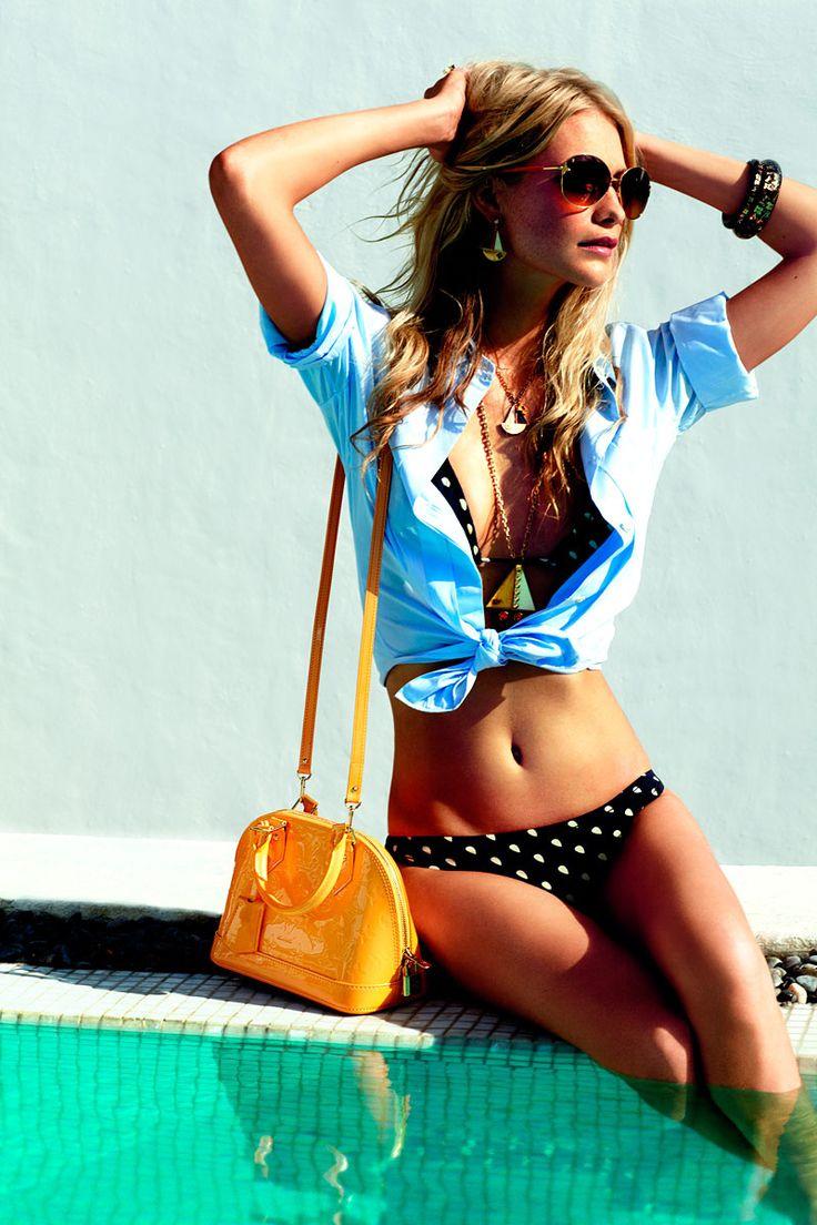 Poppy Delevingne con Louis Vuitton