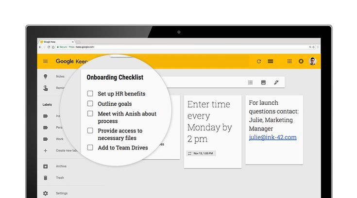 Work hacks from G Suite: onboard new employees like a boss