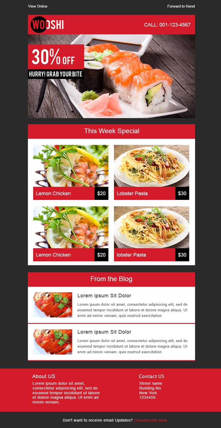8 best email template images on Pinterest | Email design, Free ...