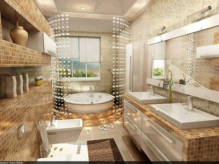Home Dizayn Part - 16: Modern Bathroom Interior Design ~ Stylishly Home Interior Designs