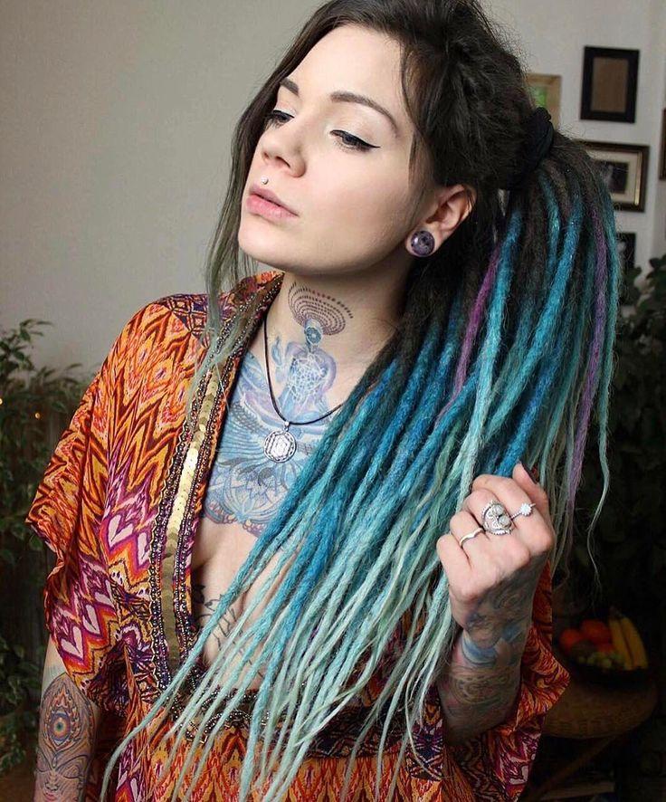 "3,760 Me gusta, 26 comentarios - sharing the love of dreads (@dreadtribe) en Instagram: ""@cosmic.hummingbird"""