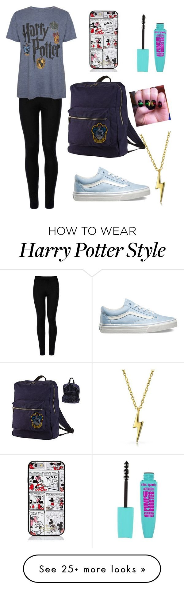 """""""Harry potter again"""" by pandapop263 on Polyvore featuring Wolford, Vans, Kate Spade and Bling Jewelry"""