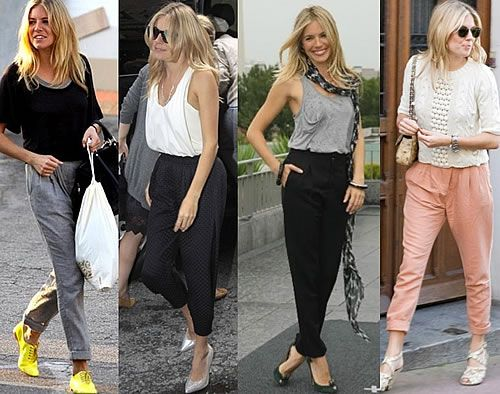 Tailored Trousers (Drew Barrymore trend 2012)