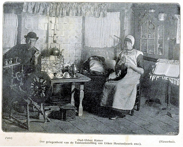 Urk interieur 1909 by janwillemsen, via Flickr #Urk