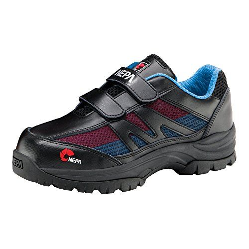 nepa Mens GT104 Safety Steel Toe Cap Permair Hiking Boots Black 65 ** See this great product.