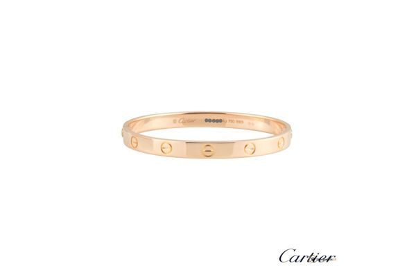 LOVE bangle by Cartier, rose gold, bracelet, popular jewelry, beliebte Schmuckstücke, Armband, Armreif
