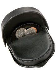 Les hommes avaient ce genre de petit porte-monnaie en cuir. / Vintage leather tray coin purse.