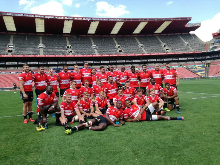 The victorious Xerox Golden Lions!  #LeyaTheLion #Liontaiment #Lions4Life #SuperRugby #EmiratesLions #BeThere #MyLionsMoment #LionsPride #LIOvSHA