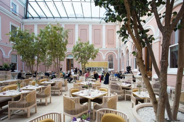 Afternoon Tea in London: 6 Affordable Options: The Wallace Restaurant Afternoon Tea
