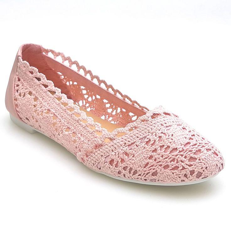 NEU-Damen-Ballerinas-Schuhe-Espadrilles-Spitze-Gr-36-37-38-39-40-41-F169-11