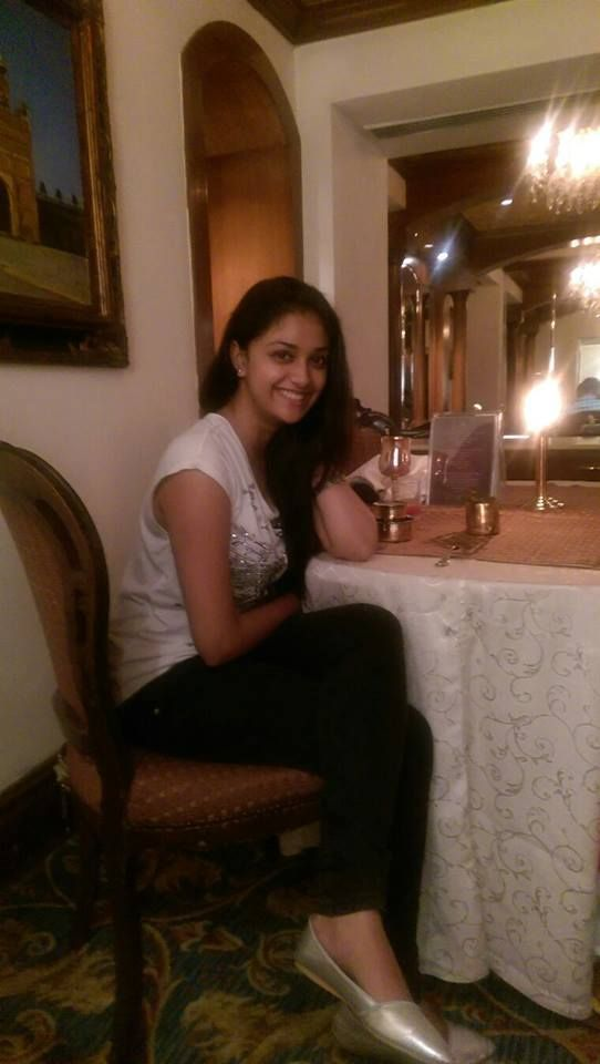 Keerthi Suresh Birthday Celebration with a dinner at Le Royal Meridian Chennai