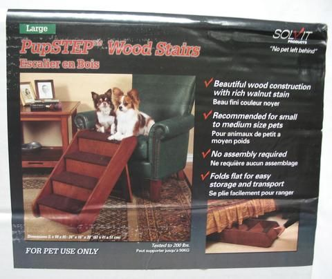 Best Pupstep Wood Stairs Wood Stairs Online Pet Supplies Wood 400 x 300