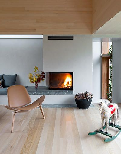 62 best Fireplace with No Mantle images on Pinterest ...