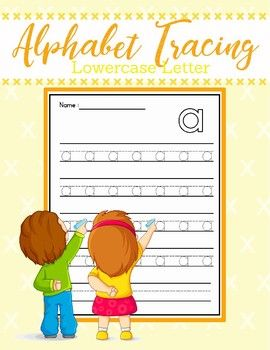 Alphabet Tracing - Lower case This set includes 1 cover and 26 pages of tracing practice from a to z. This sheets are perfect for beginning writers to practice writing the lowercase letters. Great for morning work, homework, and for anytime practice.