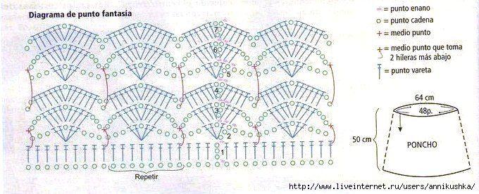 poncho+crochet+free+patterns.jpg (680×276)