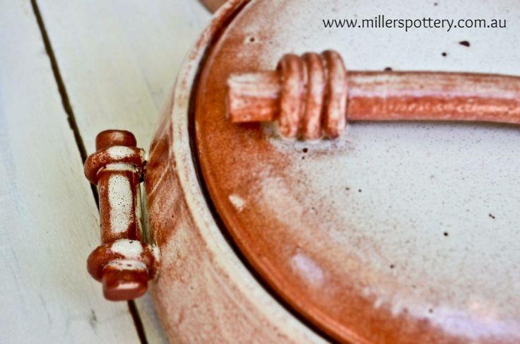 Australian handmade ceramic terracotta pot by www.millerspottery.com