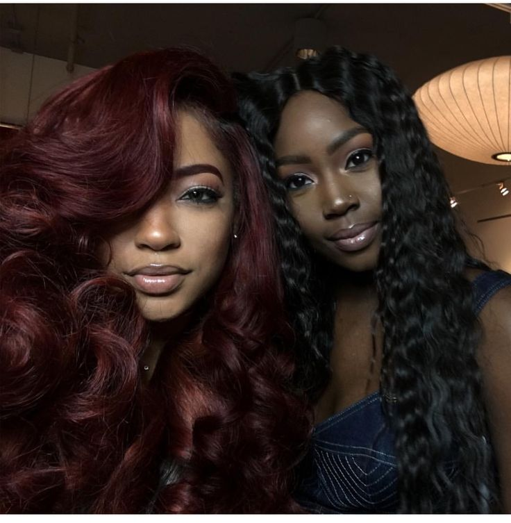 Burgundy Hair For Dark Skin Tones Google Search Hair Ideas ...