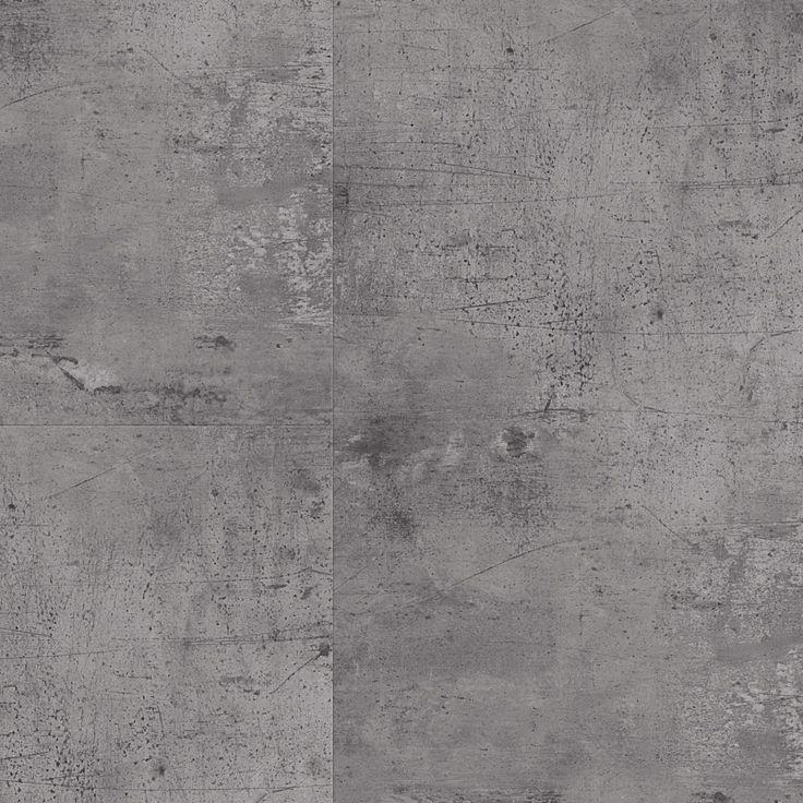 Vinyylilattia Tarkett, Starfloor Click 55, Vintage Zing - Silver, laatta, harmaa