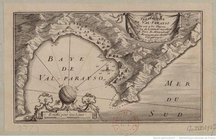 Perspective de Valparayso qui est a 32 degrez min. 54 de latitude meridiona.