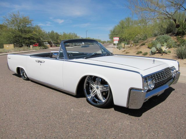 1962 lincoln continental convertible full air ride a c fully restored custom everything. Black Bedroom Furniture Sets. Home Design Ideas