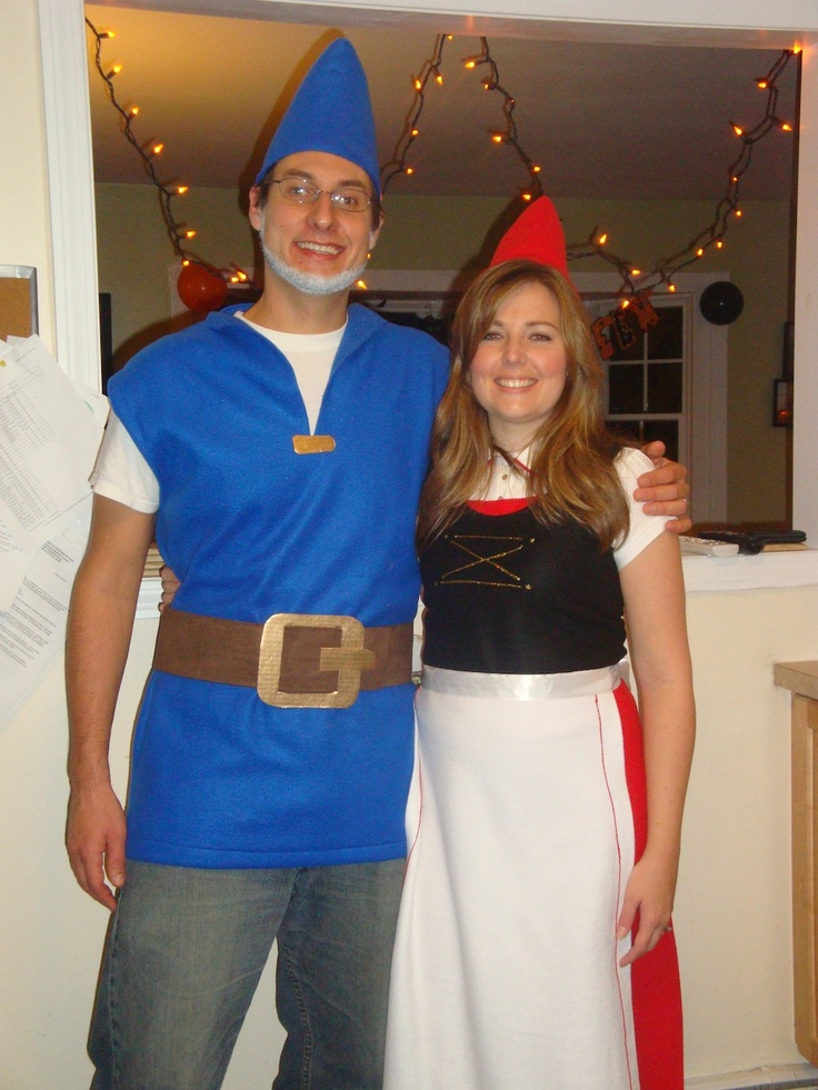 Simply Made By Erin Couples Halloween Costume Gnomes Pinterest - his and her halloween costume ideas