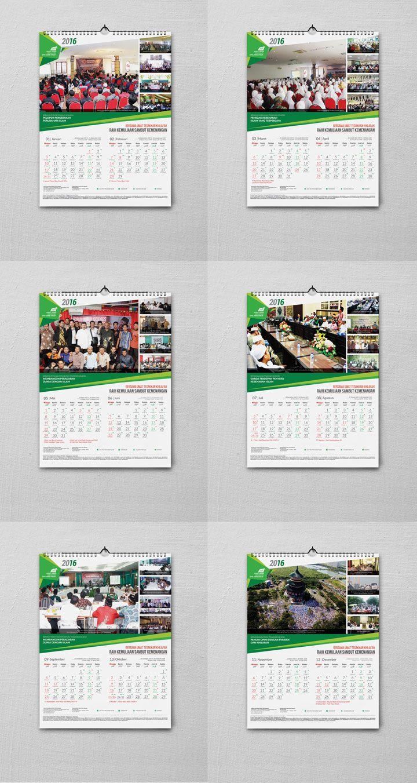 CALENDAR DESIGN HTI 2016 | AREXGRAPH DESIGN