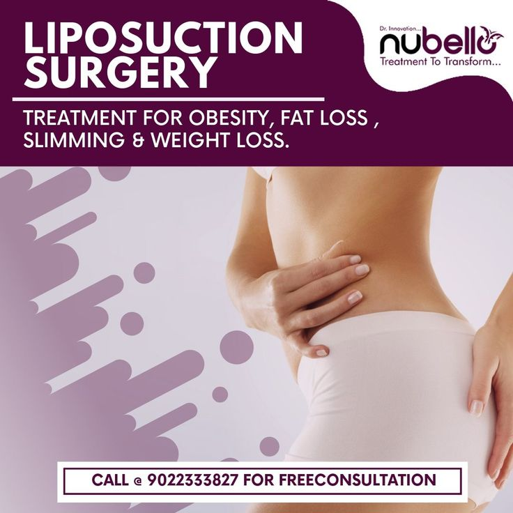 Get Rid Of That Stubborn Fat with Liposuction Surgery.