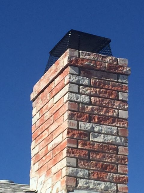 This homeowner was getting small birds and leaves inside their chimney so I installed a Fireplace Arrestor and this helped solve the issues. They are available from local hardware stores.