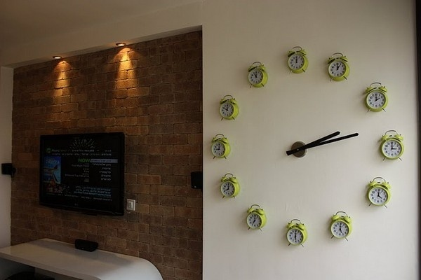 Clock wall! We need this too!
