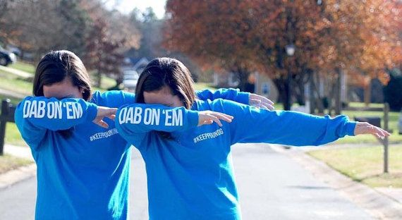 OFFICIAL PANTHERS Dab On 'Em T Shirt by ENDZONEfans on Etsy