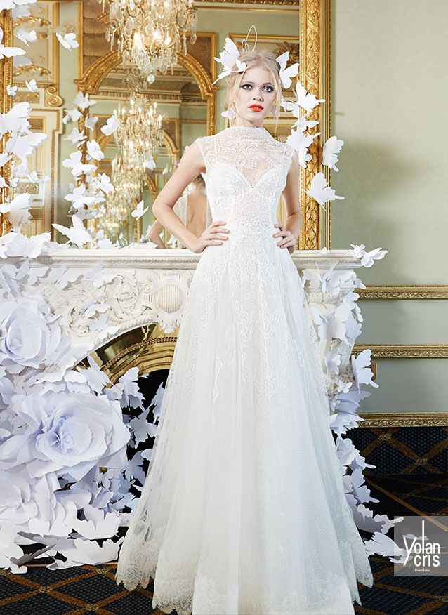 12 besten YolanCris Lace Couture 2015 Spring Bridal Collection ...