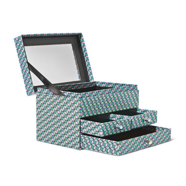 Pudełeczko, a w nim szufladki i lusterko. Niezbędnik każdej kobiety! #tigerpolska #tigerstores #autumn #jesień #październik #tigernews #tigernowości #nowości #news #october #biżuteria #jewelery #lusterko #mirror #pudełko #pudełeczko #box