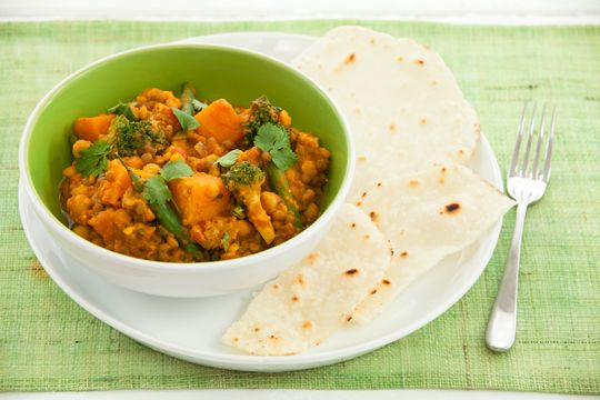 Countdown - RECIPES - Vegetable Dahl