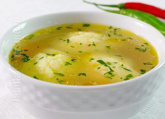 Supa de pui cu galuste – reteta video