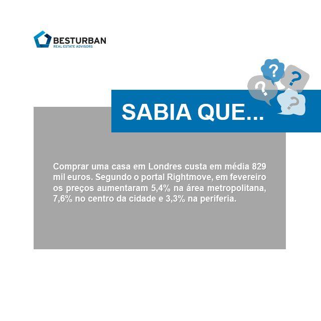 Sabia?   #8 comprar casa em Londres #sabiaque #Londres #london