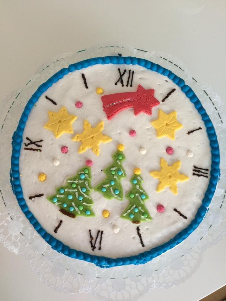 New Year's cake /Silvestertorte
