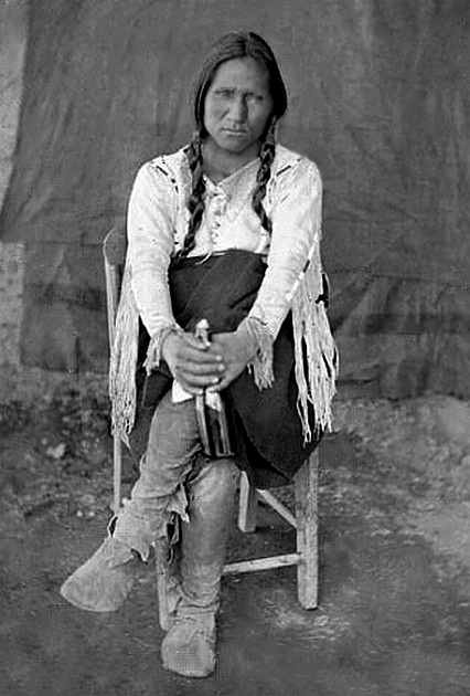 Pueblo . Taken at Taos, New Mexico, Elizabeth Town at the Feast of San Geronimo at Taos, September 30, 1871. - National Anthropological Archives, Smithsonian Institution.