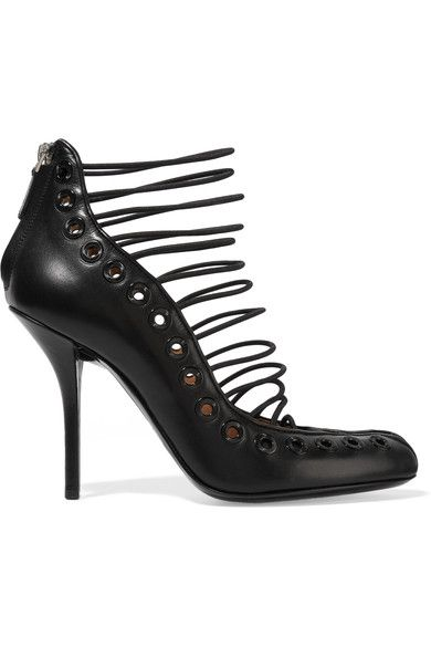 Givenchy - Piva Pumps In Black Leather - IT35.5