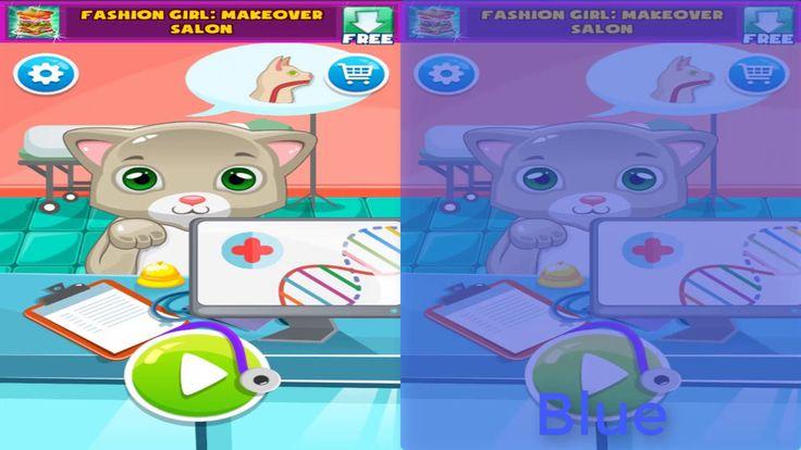 Little cat - Doctor care pet baby - pet vet games for kids