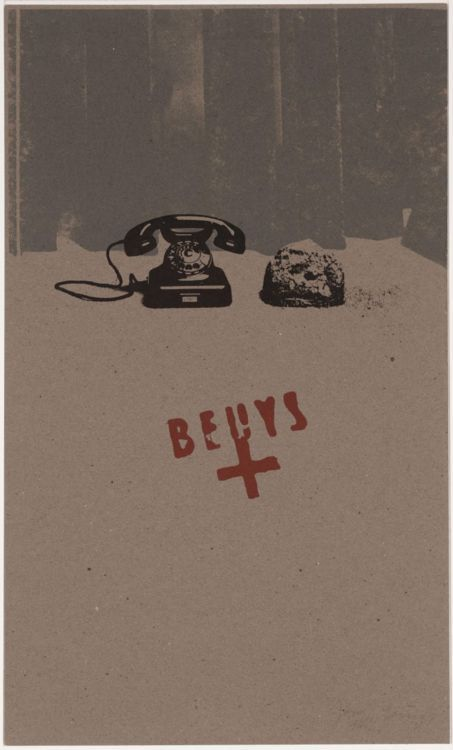 """Earth - Telephone"", 1973   By: JOSEPH BEUYS"